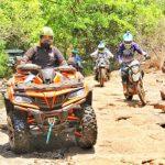 ATV 1000cc in the hills