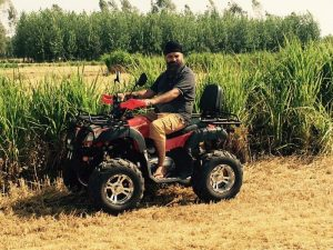atv 150cc Punjab customer