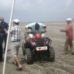 atv beach ride on white sands
