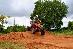 atv track 250cc fun and thrill