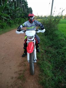 DirtBike 250cc at the Track