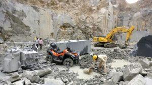 atv 800cc at the mines