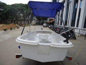 fibreglass fishing boat 3.6 meters